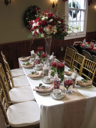 Allaire Womans Club Holiday Tea 01