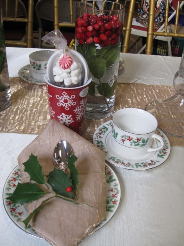 Allaire Womans Club Holiday Tea 05