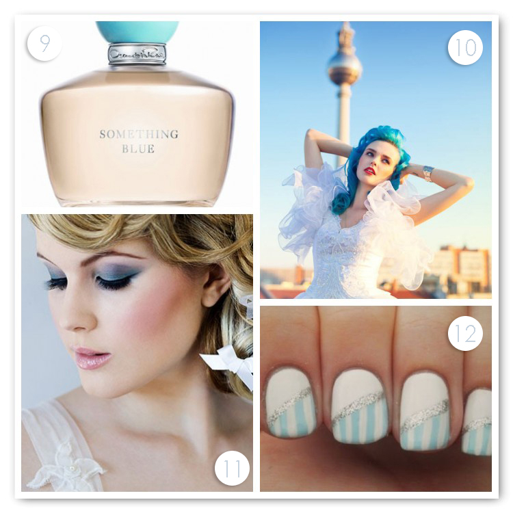 Something Blue Beauty Ideas
